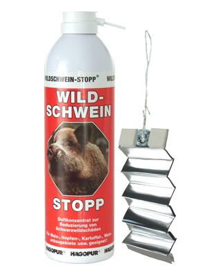 Aluminiumstreifen für WILD-SCHWEIN-STOPP